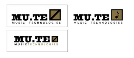 Logotipo empresa sector musical